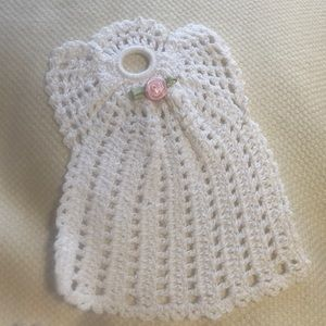 Other - White Crocheted Angel 😇 ❤️ (11)
